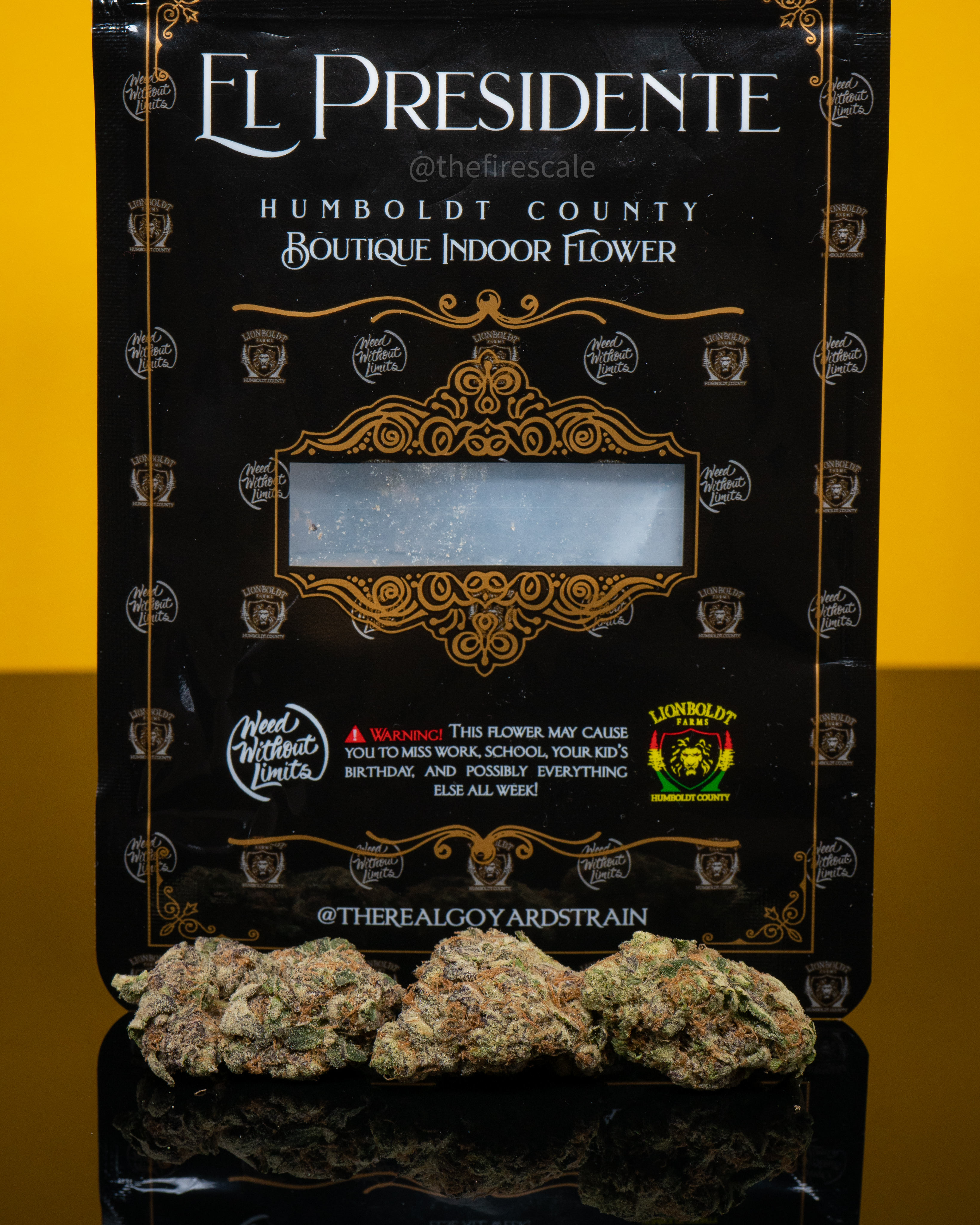 el presidente by weed without limits x lionboldt farms the fire scale